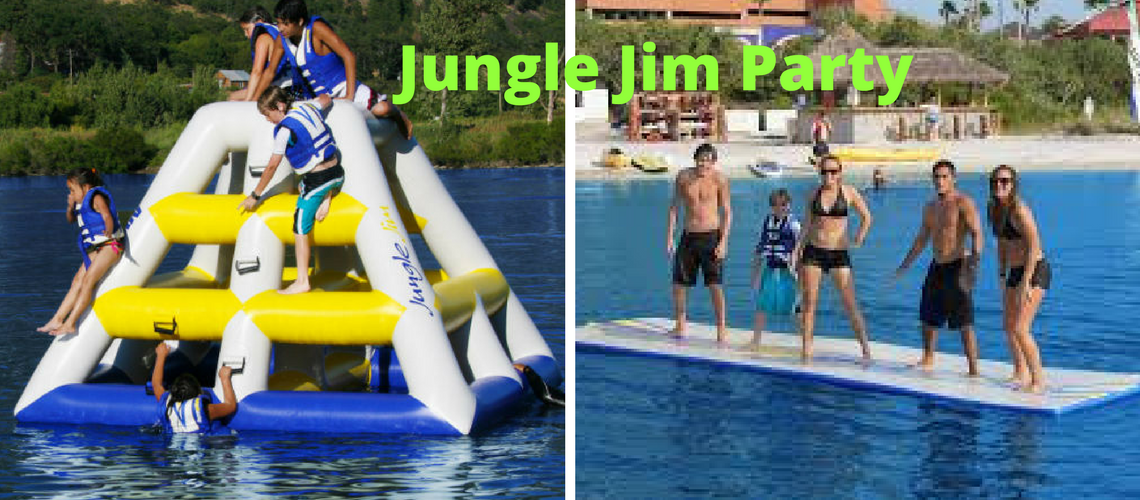 Jungle Jim Party English