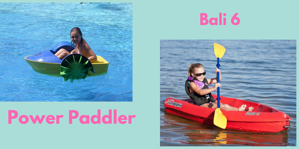 Power Paddler and Bali 6