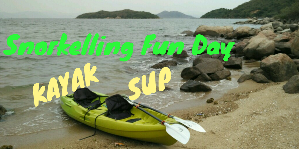sailboat + SUP + kayak fun day